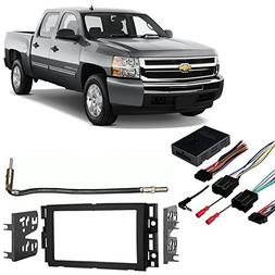 Chevy Silverado Pickup 2007-2013 Double DIN Stereo Harness R