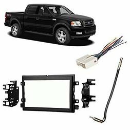 Fits Ford F-150 2007-2008 Double DIN Stereo Harness Radio In
