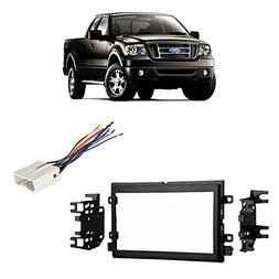 Fits Ford F-150 2004-2006 Double DIN Stereo Harness Radio In