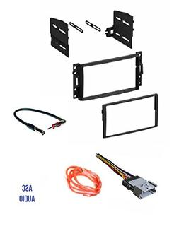 ASC GM510 Double Din Car Radio Stereo Dash Kit, Wire Harness
