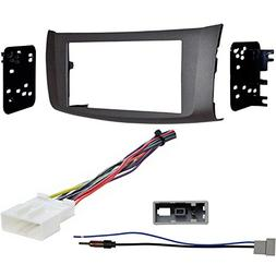 Metra 95-7618G Gray Dash Kit + Harness + Antenna Adapter for