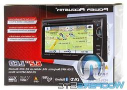 "6.2"" Incite Double-DIN In-Dash GPS Navigation LCD Touchscree"