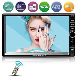 Ezonetronics 7-inch Indash Double Din Car Stereo Touch Scree