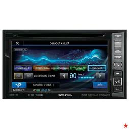 "ALPINE INE-W960 DOUBLE DIN DVD CD RECEIVER WITH 6.1"" TOUCHSC"