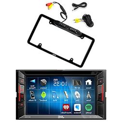 jvc double din bluetooth dash