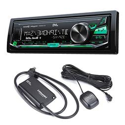 JVC KD-X340BTS Bluetooth In-Dash Digital Media Car Stereo w/