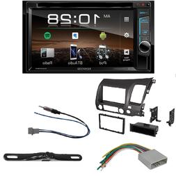 Kenwood DDX375 2-Din Monitor Receiver with Bluetooth Double