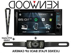 """Kenwood DDX375BT 6.2"""" In Dash Double Din DVD Receiver with B"""