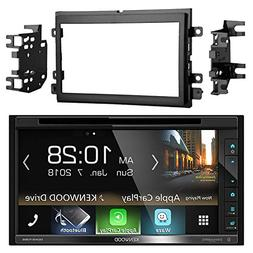 "Kenwood DDX6703S 6.2"" Inch Touchscreen Double-DIN CD DVD Pla"