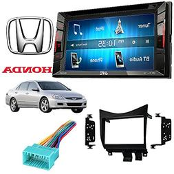 JVC KW-V140BT 2 Din DVD/CD/AM/FM Stereo Dash Kit for 2003-20