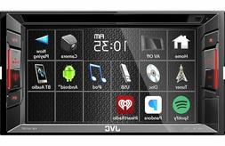 "JVC KW-V250BT 6.2"" Double-Din Bluetooth DVD/CD/USB Car Recei"