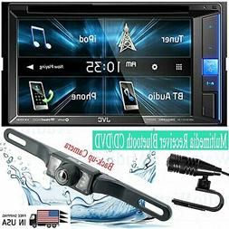 JVC KW-V25BT Double DIN Multimedia Receiver Bluetooth CD/DVD
