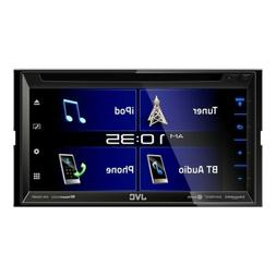 "NEW JVC KW-V330BT 6.8"" 2-Din Bluetooth In-Dash DVD/CD/AM/FM/"