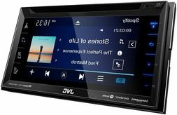 JVC KW-V350BT Double DIN Bluetooth In-Dash CD/AM/FM/DVD 6.8""