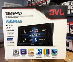 "JVC KW-V620BT 6.8"" Double Din DVD Bluetooth In Dash Car Ster"