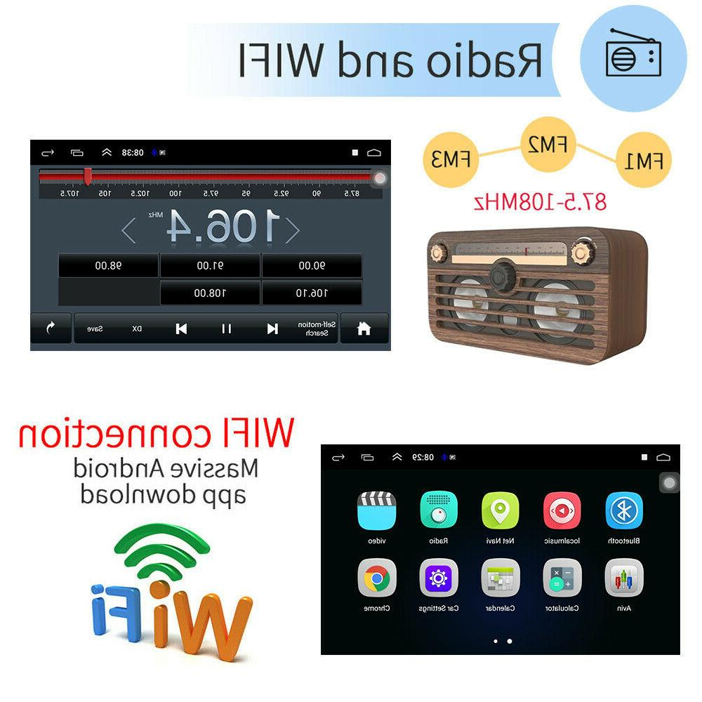 "10.1"" Android 9.1 Stereo GPS 2Din Wifi MP5 Player"