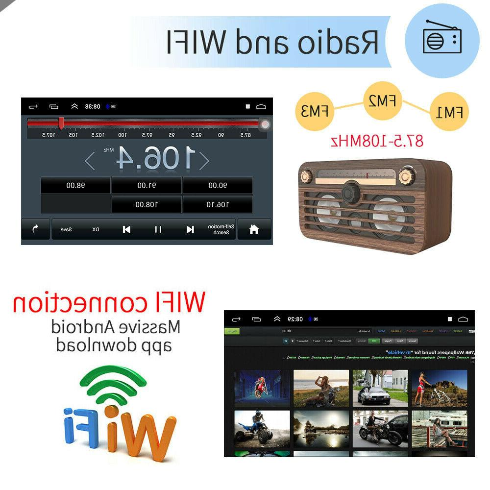 "10.1"" Android9.1 Stereo GPS Navi MP5 Double 2Din Core"