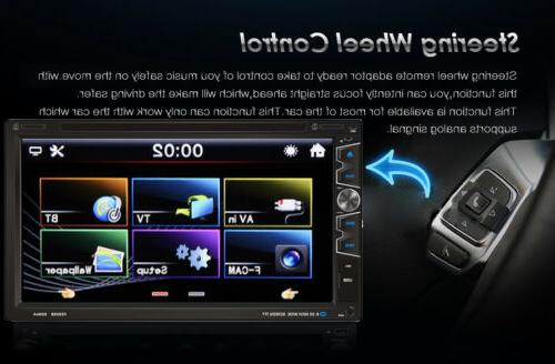 """7"""" Double Car Stereo Player with Backup Camera"""