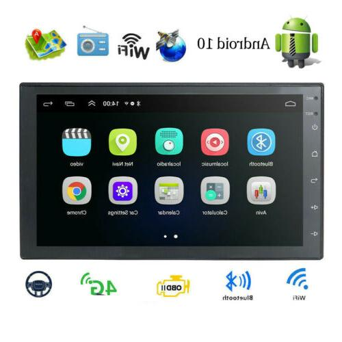 """7"""" Android10.0 Car GPS Navi Double 2Din Quad Core Stereo"""