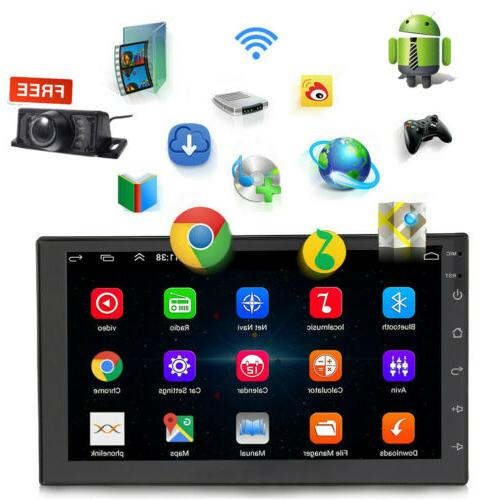 """7"""" Android10.0 GPS Navi Player Double Quad Core Stereo"""