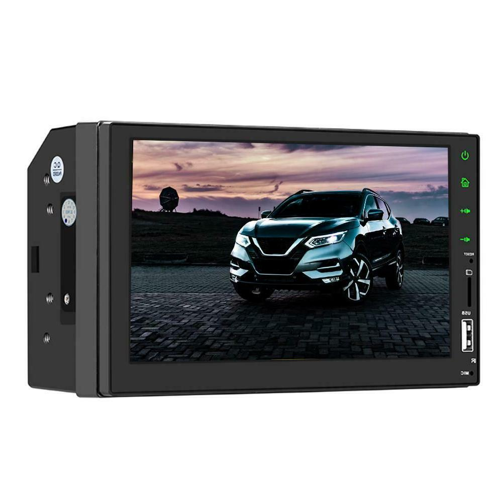 7 Double 1080p DIN Stereo Radio MP5 Touch Screen