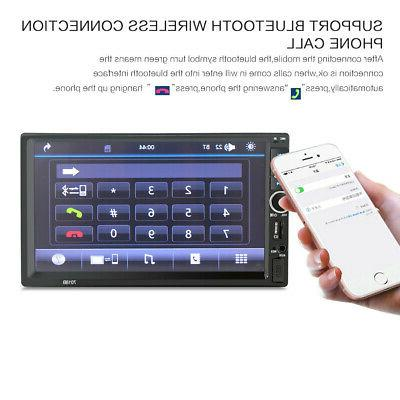 """7"""" Double 2 DIN Car Touch Stereo Digital Hit"""