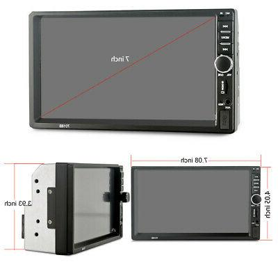 """7"""" Double Car MP5 Touch Screen Stereo Digital Hit"""