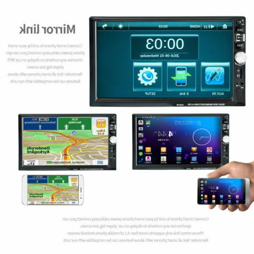 "7""Double DIN Car Radio MP5 Player Touch Screen Head"