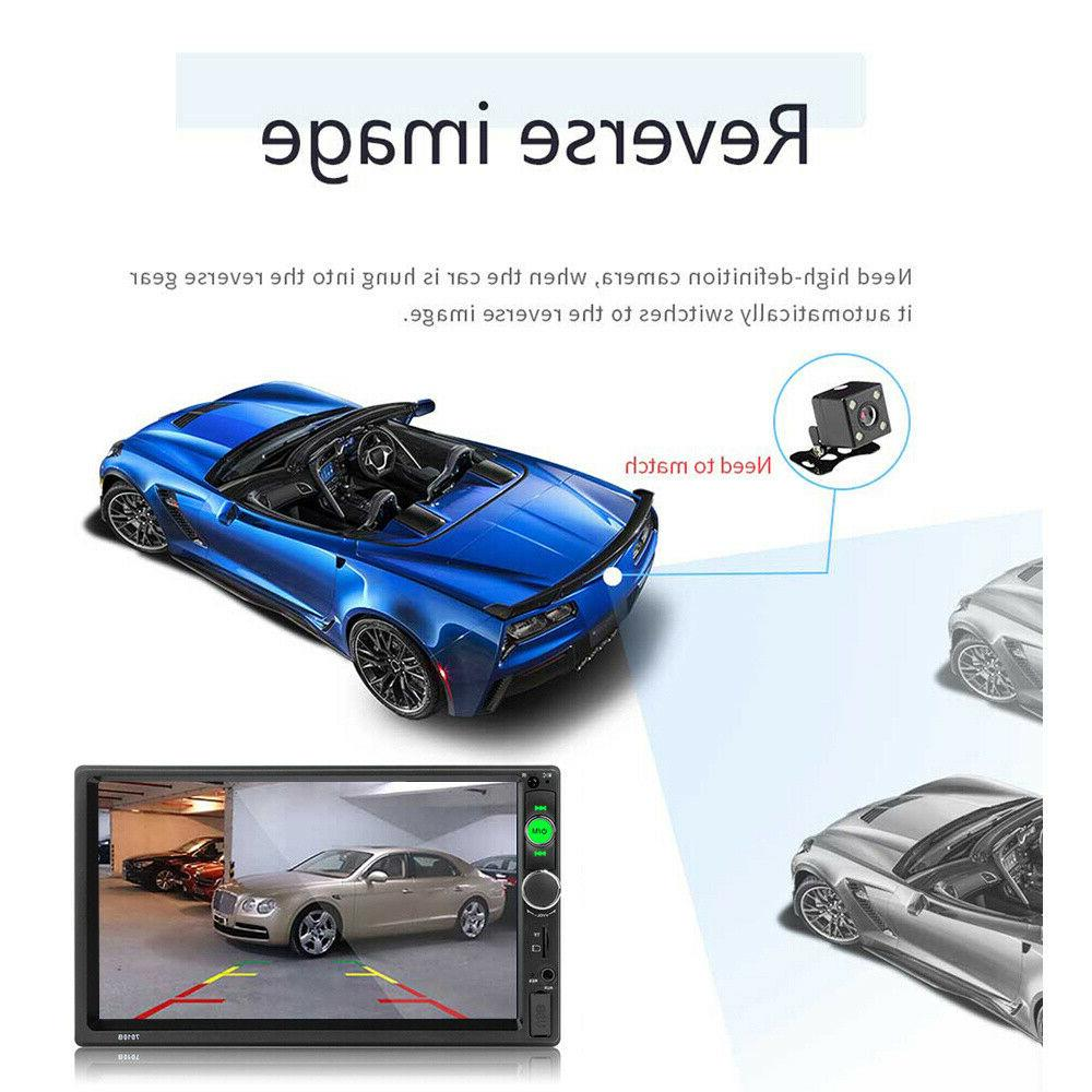 """7"""" Double MP5 Player Touch FM In"""
