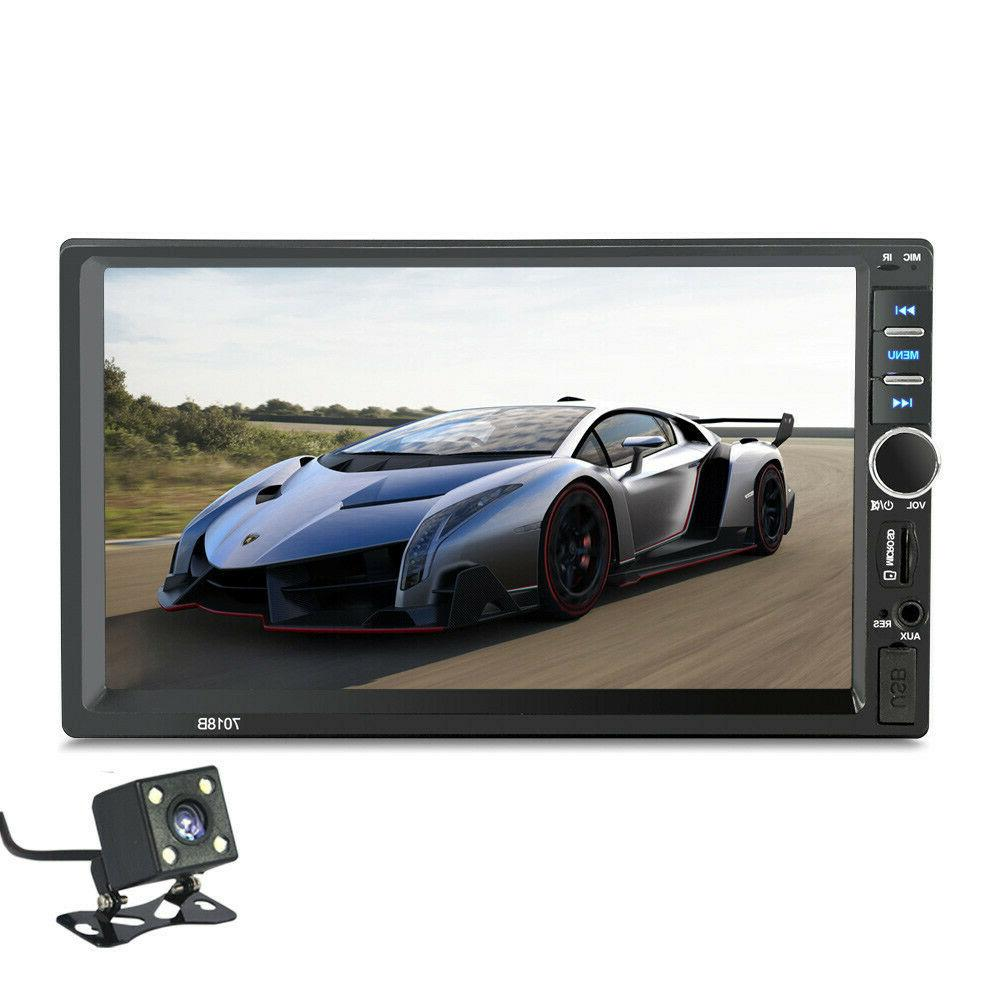 """7"""" DIN Bluetooth Touch Stereo Radio"""