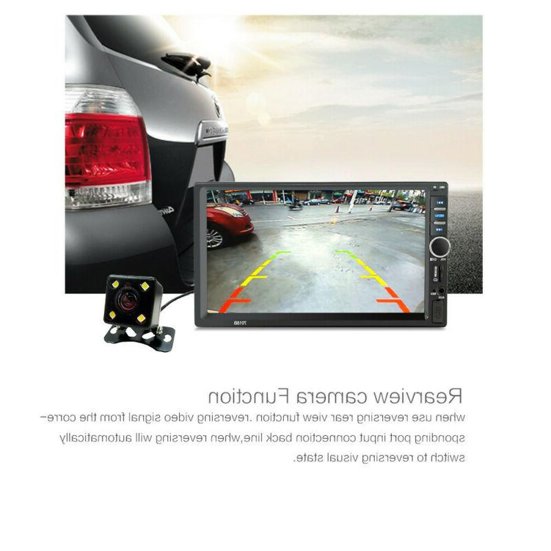 "7"" Inch DOUBLE Car MP5 Player Tou+ch Screen HD+Free"
