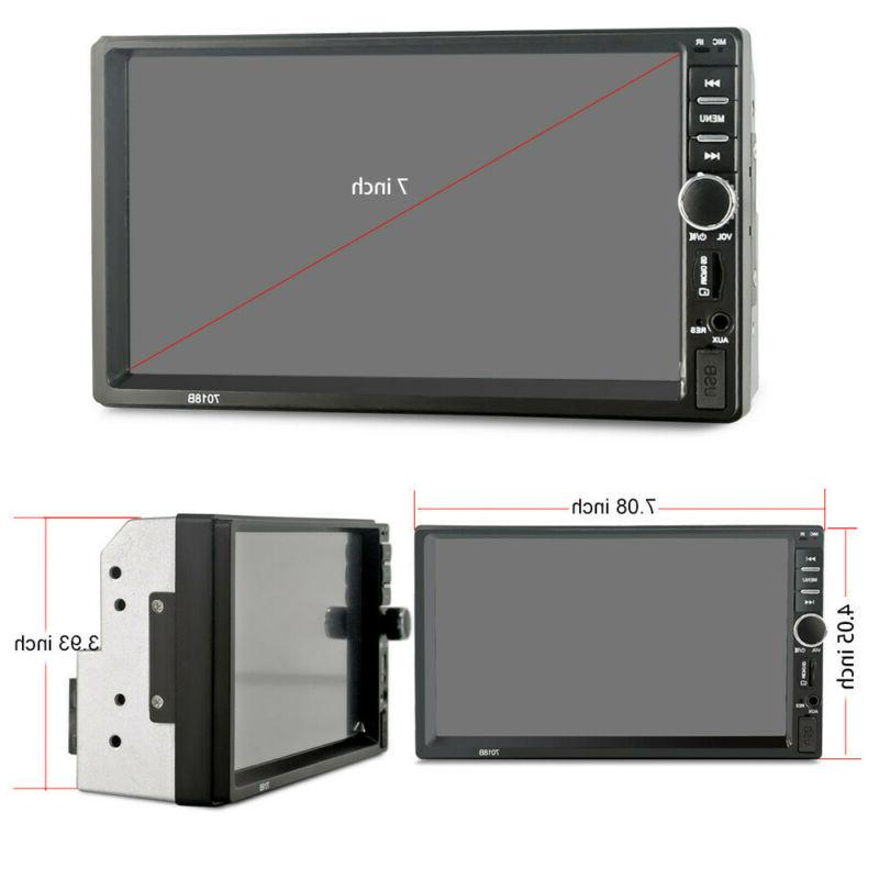 "7"" Inch Car MP5 Player Tou+ch Screen Stereo HD+Free"