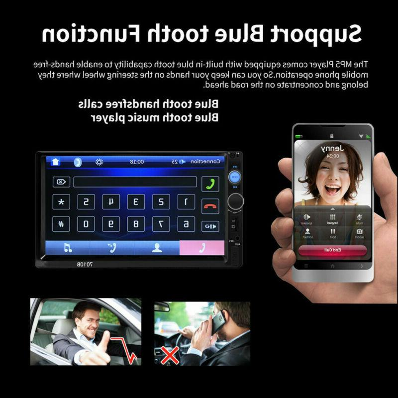 """7.0"""" Touch Screen Stereo Player FM Radio +Camera"""