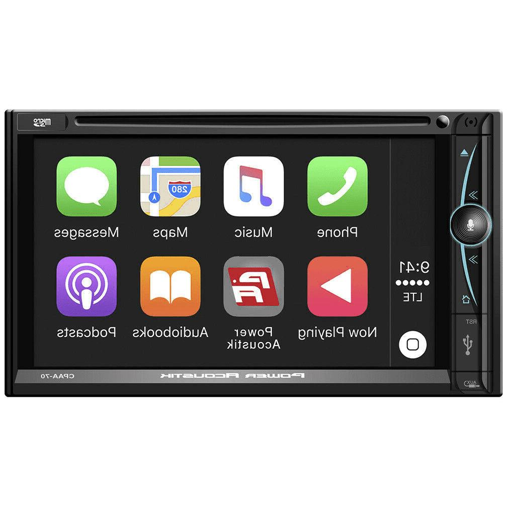 7 Double Apple In-Dash Stereo Receiver view
