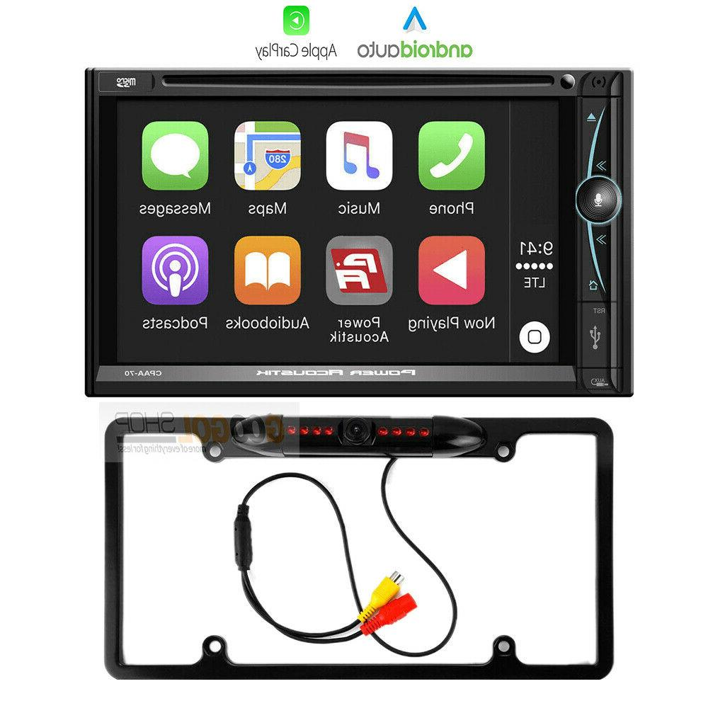 7 inch double din apple carplay in