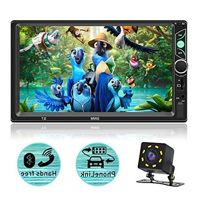 7 inch double din capacitive touch screen