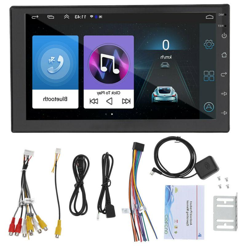 """7"""" Android 9.1 Car Stereo GPS Navi MP5 Player Double 2Din WI"""