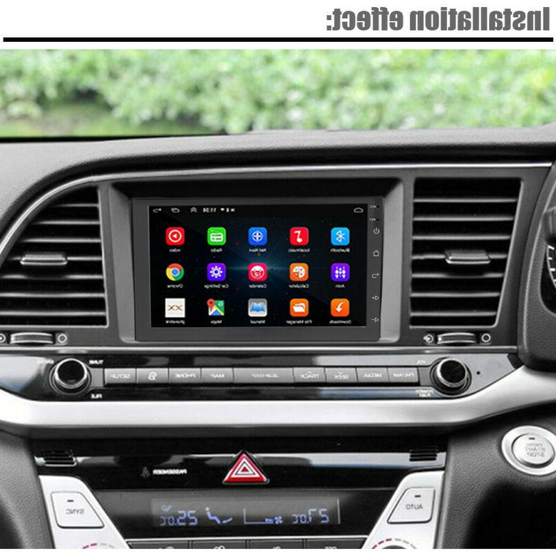 """7"""" Android Stereo GPS MP5 Player 2Din Quad Radio"""
