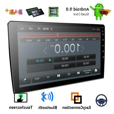 Double 2Din 9 inch Android 9.1 Quad Core Car Radio In Dash S