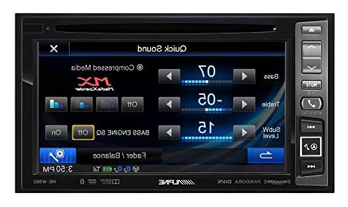 Alpine - Built-in Gps - Bluetooth In-dash Receiver Fixed Faceplate