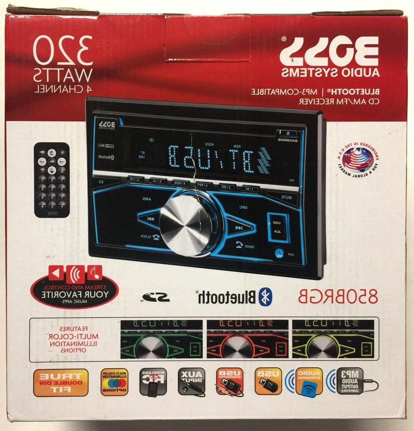car stereo receivers systems 850brgb bluetooth double