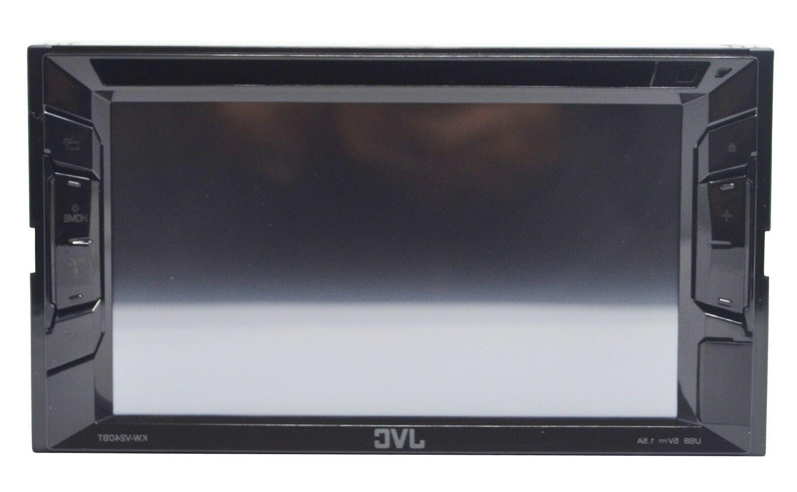 JVC KW-V240BT, DVD/CD Stereo Touchscreen w/ Bluetooth