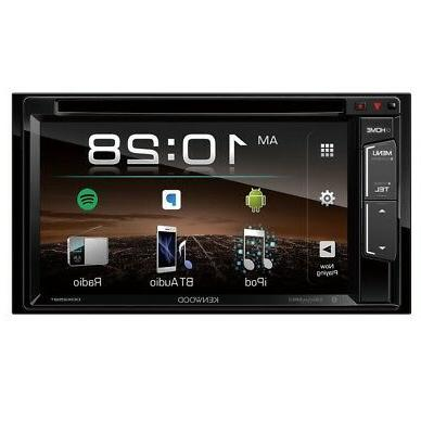 "KENWOOD 6.2"" BLUETOOTH DOUBLE CAR RECEIVER"