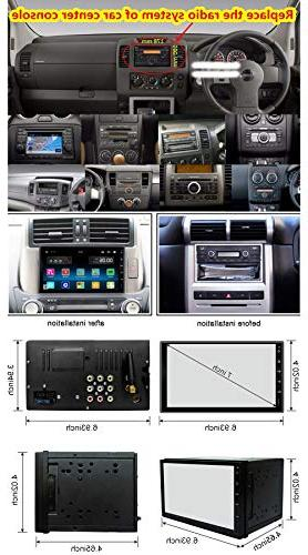 Ezonetronics Android 6.0 Din Car with Navigation Radio Link 1G DDR3 + Flash