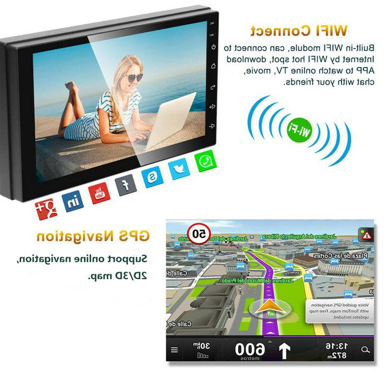 Android 9.1 Stereo GPS Radio Double