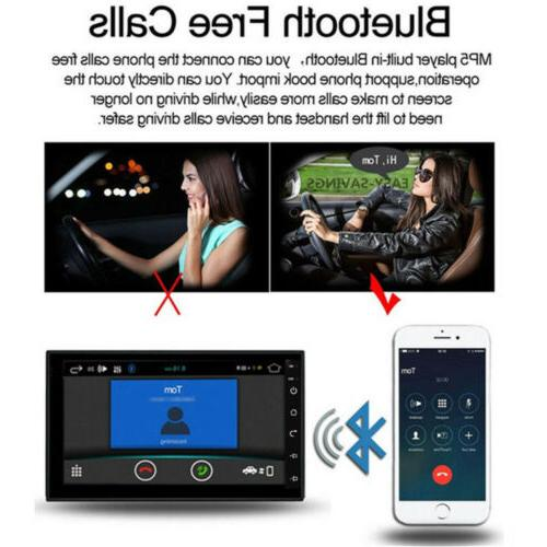 Android 8.1 GPS Navigation Bluetooth Radio 7""
