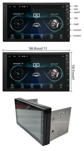 """Android 9.1 Stereo GPS Double Din 7"""""""
