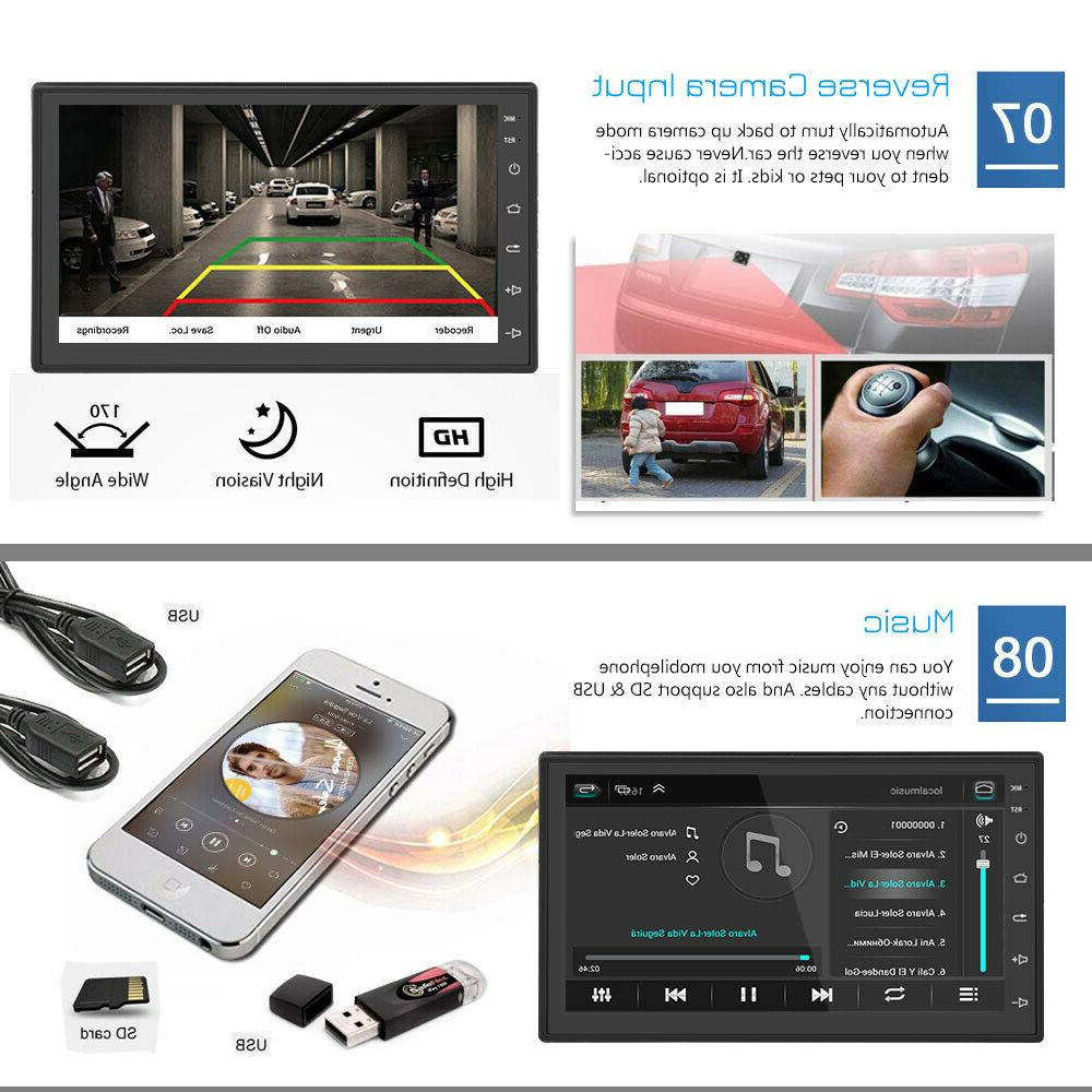 Android Car Stereo Radio Inch