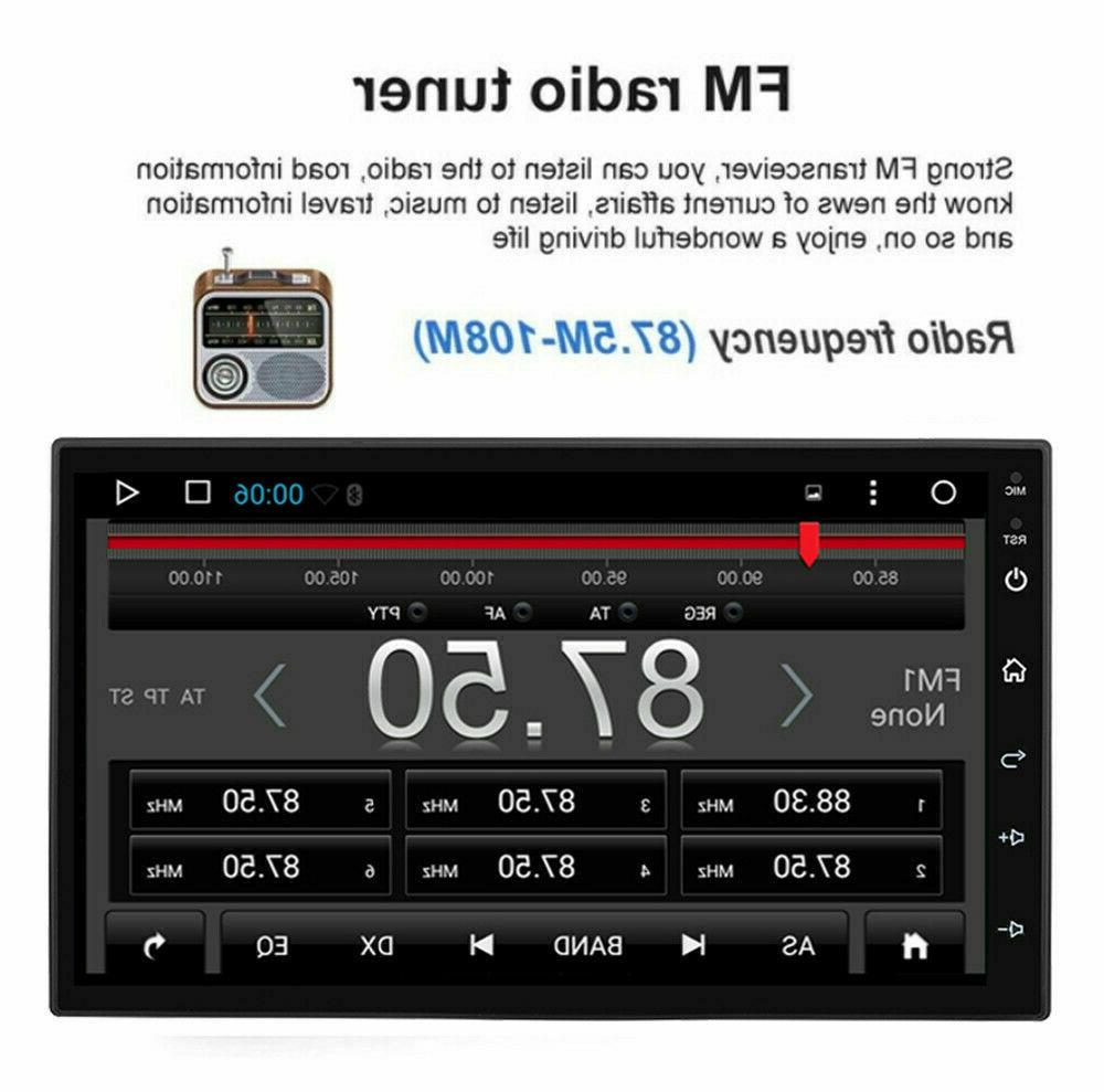 Double 2 Din Android 9.1 Player GPS Navi