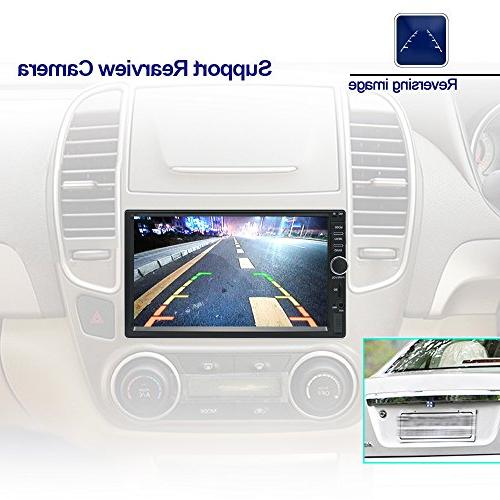Ezonetronics Android Radio Stereo Double inch High Navigation USB SD 1G DDR3 + NAND Flash(No DVD)